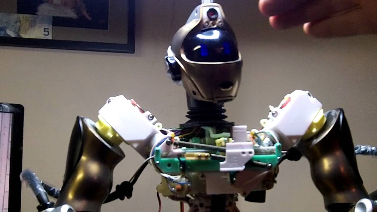Robosapien V2 Robot Modification Body Removed