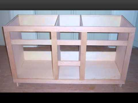 Custom Bathroom Vanities Plans custom built vanity - youtube