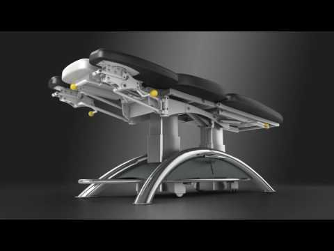 Lojer Capre FX treatment table for physiotherapy