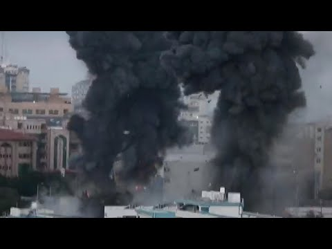 Israel attacks Gaza Strip as violence intensifies