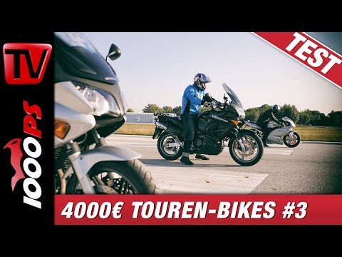Vergleichstest Sporttourer unter 4000€ - The Small Tour Episode 3