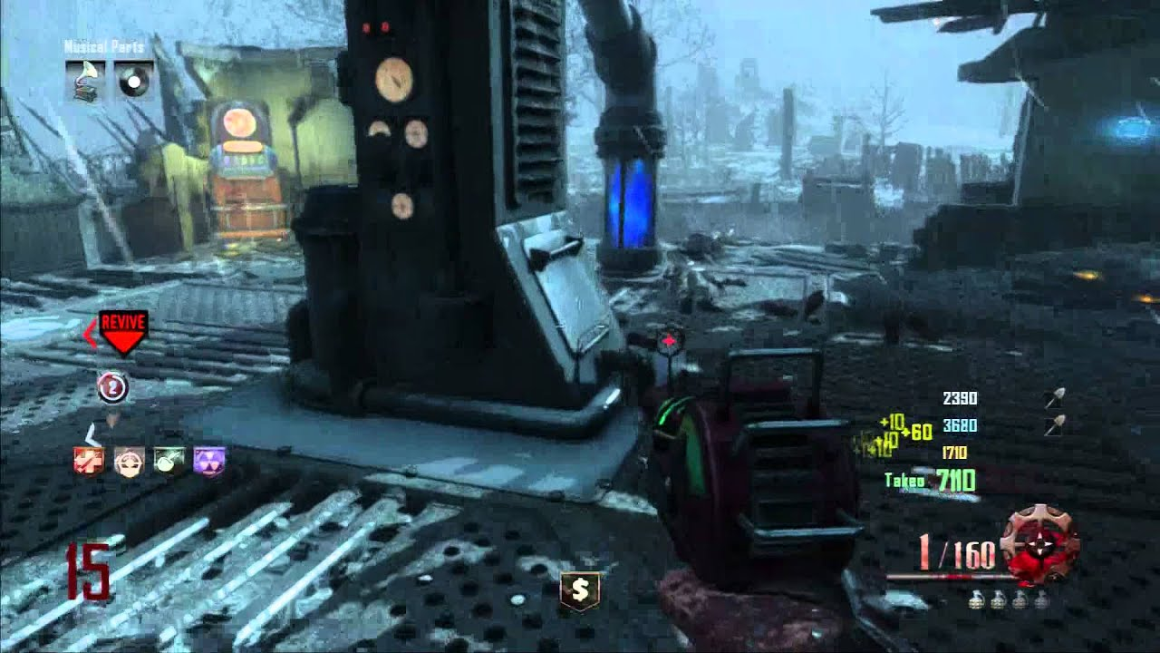 Call Of Duty Black ops 2 PS4 zombies gameplay 2