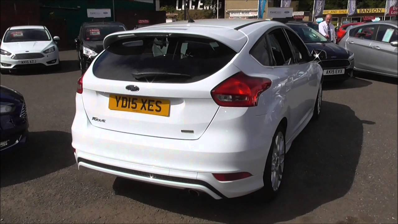 ford focus 1 5 ecoboost zetec s 5dr u16898 youtube. Black Bedroom Furniture Sets. Home Design Ideas