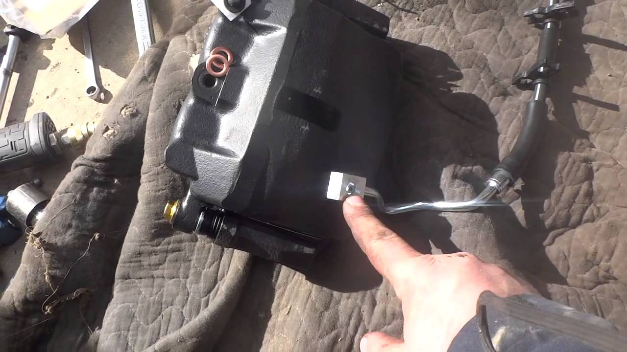 Brake Caliper And Brake Line Replacement F150 Diy Youtube