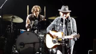 """Hold Back the Tears"" Neil Young@Susquehanna Bank Center Camden, NJ 7/16/15 Rebel Content Tour"