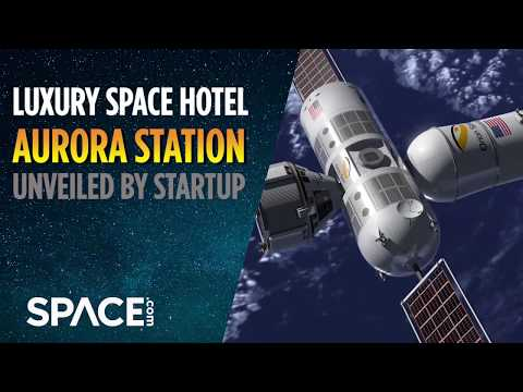 'Luxury Space Hotel' Unveiled by Startup