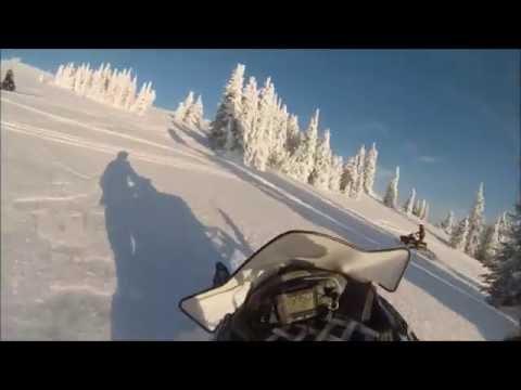 Snowmobiling Montana, Yellowstone, Two Top/ Lionshead Area
