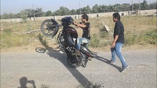 Funny Bike Stunt Fail In India-2016 Must Watch