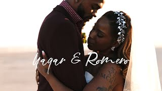 """Two Flames Become One   The Most """"Lit"""" Vegas Elopement"""