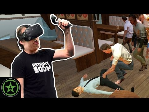 VR the Champions - Drunkn Bar Fight