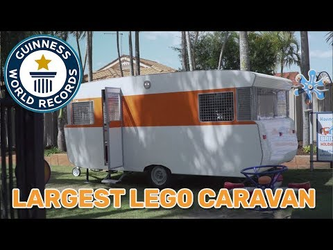 Largest LEGO® Caravan - Guinness World Records