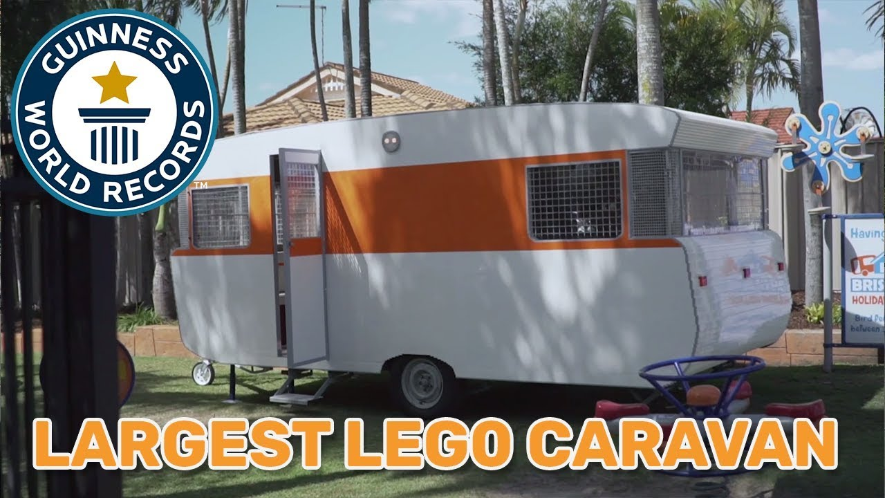 Take a tour of this LEGO® caravan made out of 288,000 bricks