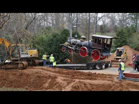 "The ""Texas"" steam locomotive restoration"