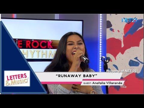 ANATALIA VILLARANDA - RUNAWAY BABY (NET25 LETTERS AND MUSIC)