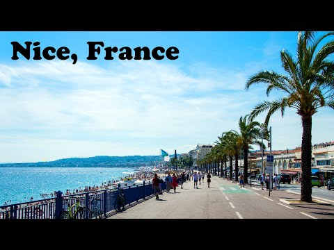 Nice, Côte d'azur, França: Praia e Promenade des Anglais