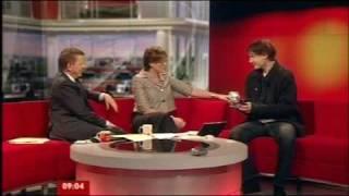 Interview with William Orbit on BBC Breakfast TV, 29/4-2009