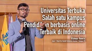 Ridwan Remin - Universitas Terbuka Salah satu kampus pendidikan berbasis online terbaik di Indonesia