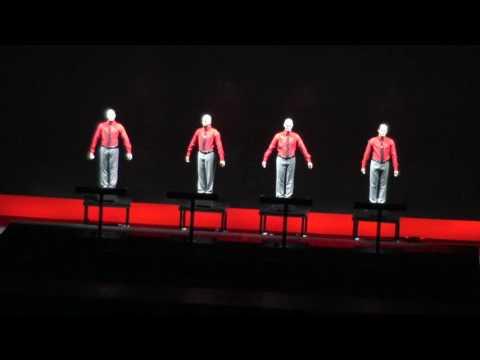 Kraftwerk 3D at Hollywood Bowl 2016 4 of 5