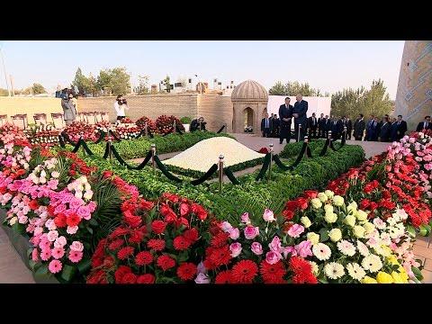 могила каримова в самарканде фото