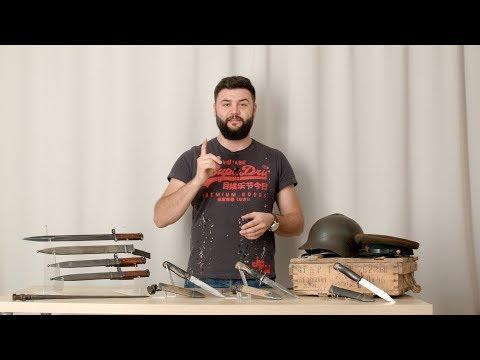 Нож разведчика НР 40,  штыки СВТ и Мосина