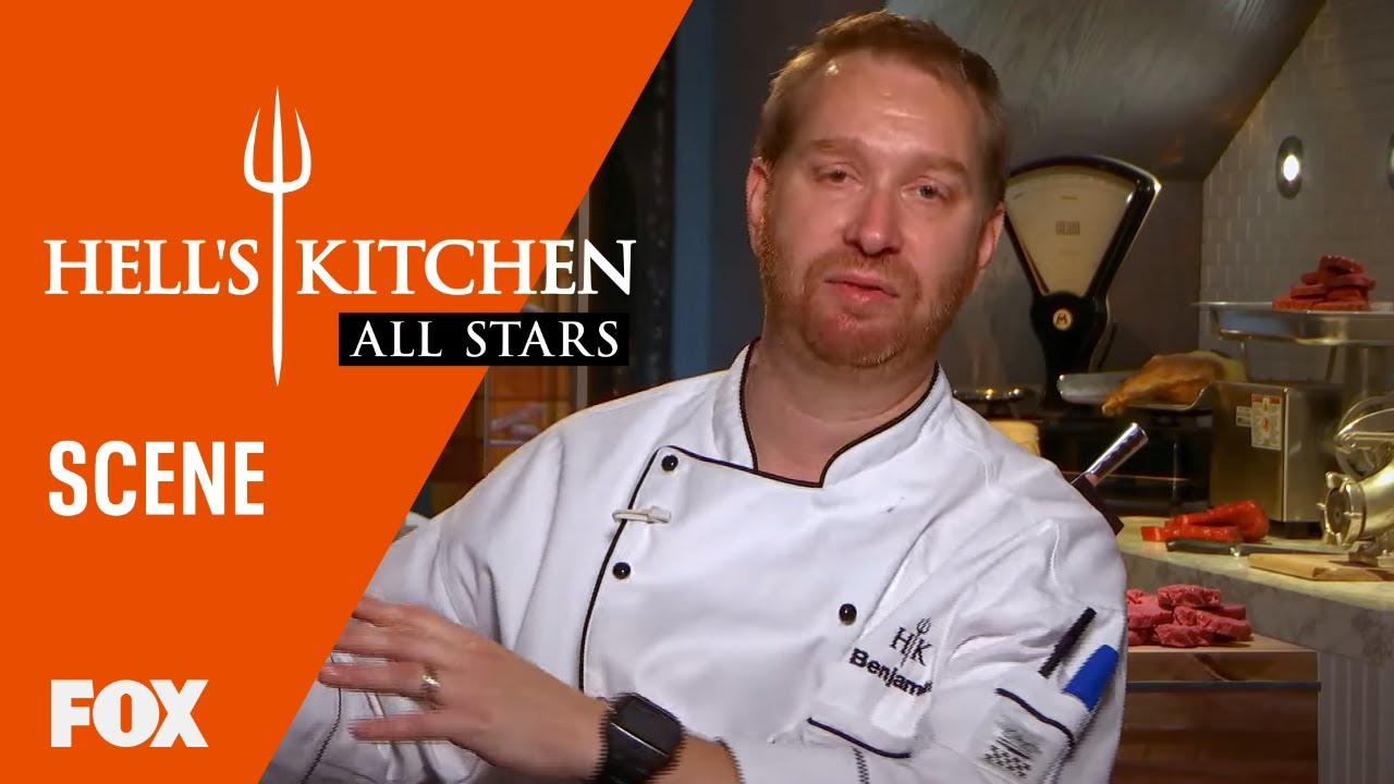 benjamin michelle gather their teams season 17 ep 16 hells kitchen all stars - Hells Kitchen Season 17
