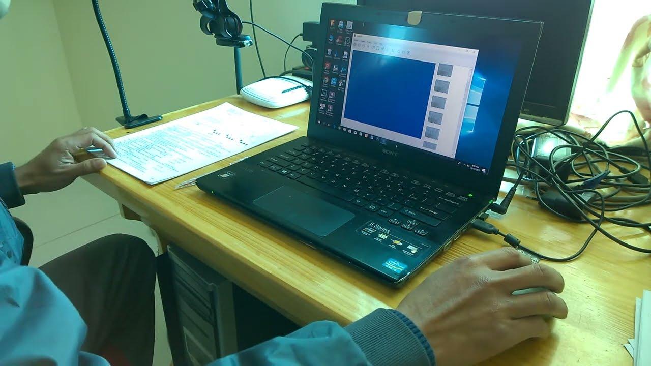 Hướng dẫn chấm trắc nghiệm trên máy tính bằng phần mềm Eyegrade