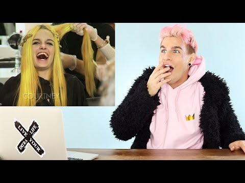 HAIRDRESSER REACTS TO AMERICAS NEXT TOP MODEL MAKEOVERS PT. 8! | bradmondo