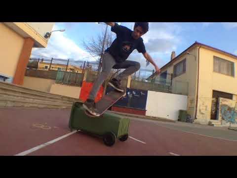 skateboarding in greece