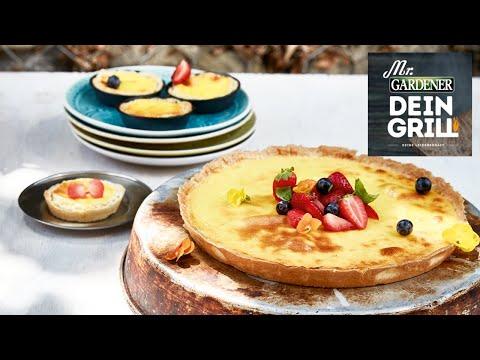 grillrezept-schmand-tarte-mit-basilikum-erdbeeren- -mr.-gardener