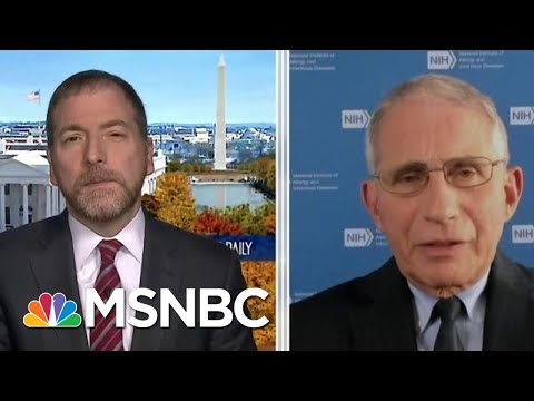 Dr. Fauci: Widespread Vaccine Distribution Likely 'Several Months Into 2021' | MTP Daily | MSNBC