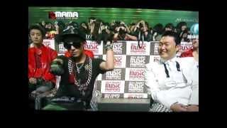 MAMA 2012- G dragon gangnam style