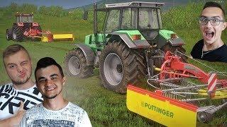 "Sianokiszonka 2018 na nowej łące ☆ ""od Ara do Hektara"" #45 ㋡ Farming Simulator 17 Platinum MP"