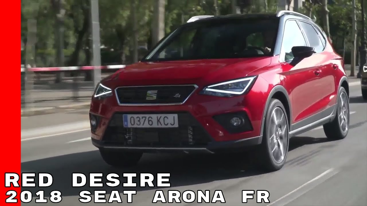 2018 seat arona fr red desire test drive exterior interior youtube. Black Bedroom Furniture Sets. Home Design Ideas