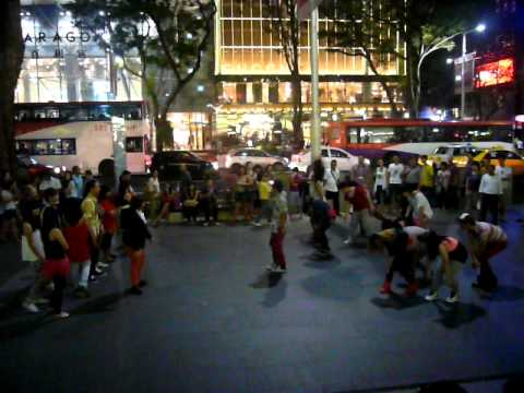 DBS Flashmob