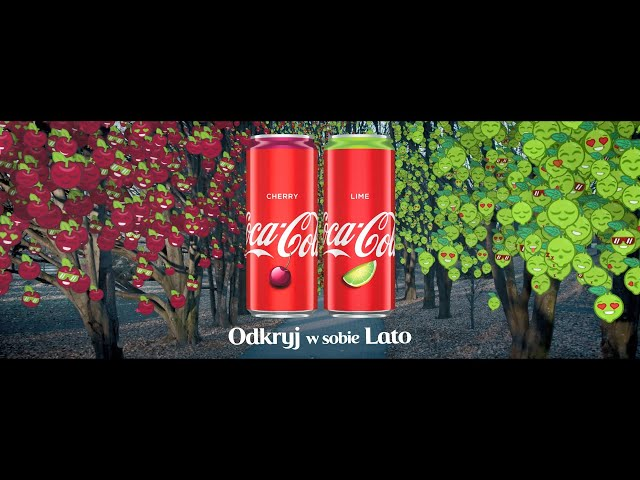 Odkryj w sobie lato z Coca-Cola Lime i Coca-Cola Cherry!
