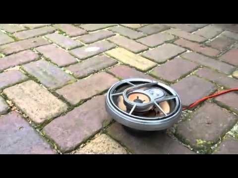 blow up old pioneer speaker