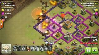 Clash Of Clans ► Clan: Ehrensache - Clan Krieg ◄ +++ COC +++ # 2 // Red Life