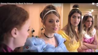 Disney Princess Go Back To School