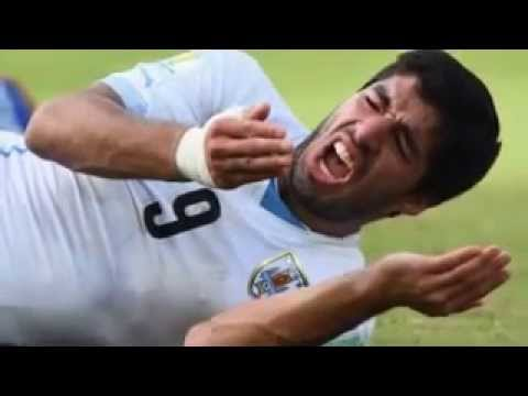 World Cup Luis Suarez embroiled in new BITING storm