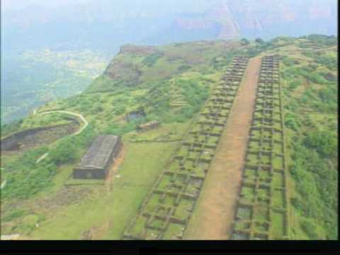 Raigad Fort - An Arial View of The Maratha Empire Capital