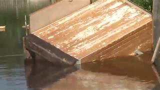 Жесть - Выжить в наводнение любой ценой. некуда бежать. Потоп Канск красноярский край.