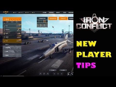 Iron Conflict tips for new players. Showing some basics of the game. |