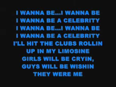 Fred Figglehorn-I wanna be a celebrity LYRICS