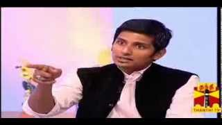 NATPUDAN APSARA - Actor Jiiva  Seg-2 Thanthi TV 28.12.2013