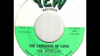 The Intrigues - The Language Of Love.wmv