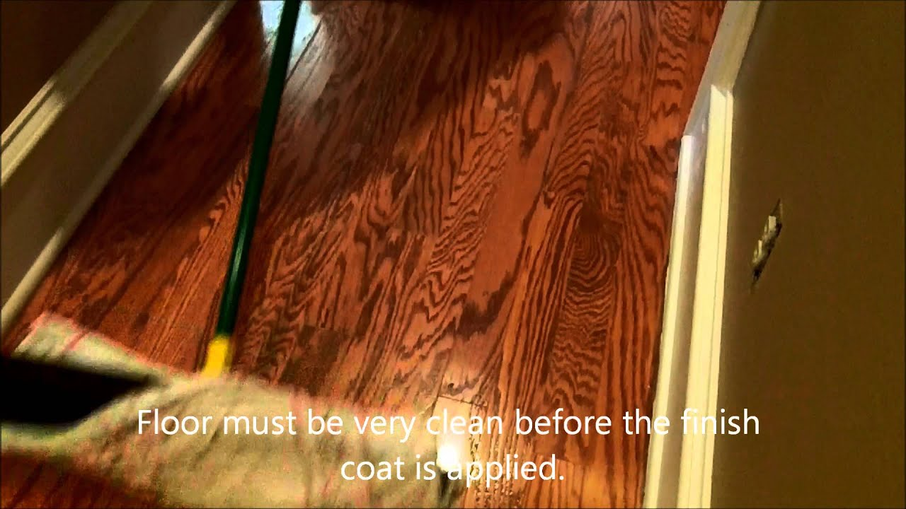 Oak engineered wood floor recoat youtube for Engineered wood flooring philippines