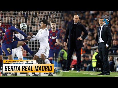 Barcelona Di Bantu Wasit, Real Madrid Di Nilai Pantas Menang ● Zidane Belum Terkalahkan Di Camp Nou