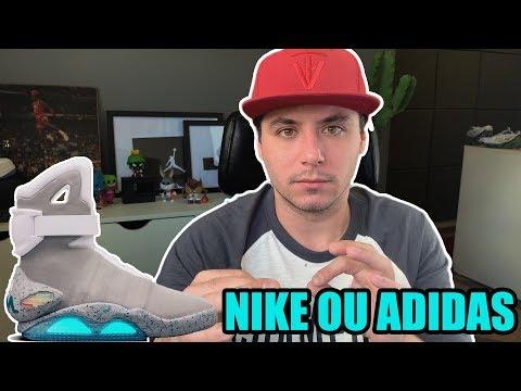 Um tênis lançado por mim? Nike ou Adidas?   The Vict Responde #8