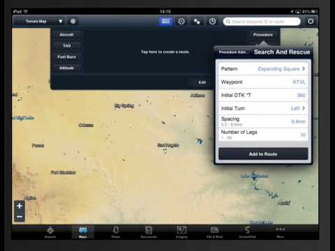 ForeFlight Search and Rescue features