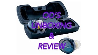 UNBOX & REVI Bose- SoundSport Free wireless headphones - Blue